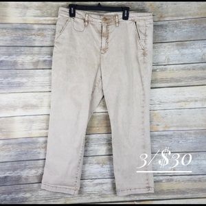 Anthropologie Chino pants 32 with slim leg